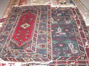 Doesemealti tæpper - nomadetæppet til højre